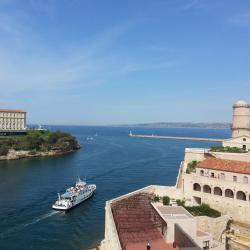 Marseille Pharo et fort St Jean