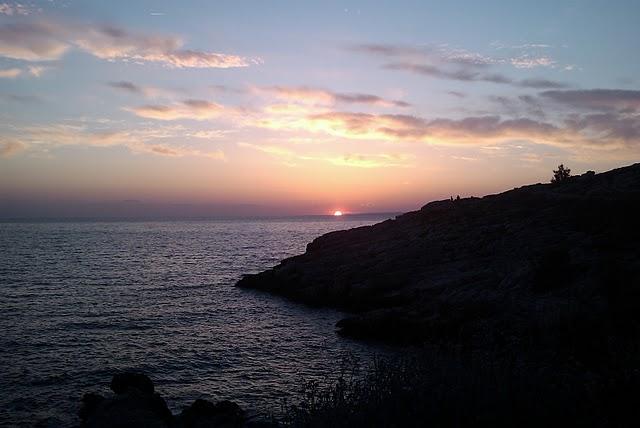 Soleil couchant Marseille 8ème